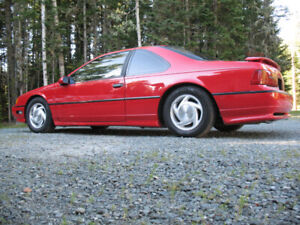 1990 Ford Thunderbird Super Coupe 5 Speed Manual