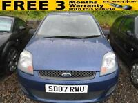 2007 FORD FIESTA 1.25 Style [Climate] A NICE WEE STARTER VEHICLE, 2007 MODEL