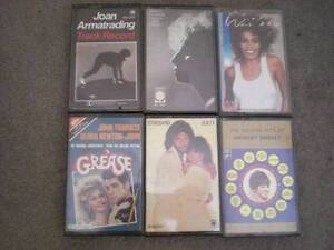 Various cassette tapes of  music Cottesloe Cottesloe Area Preview