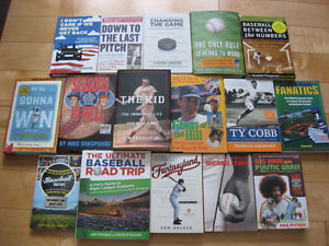 Livres de Baseball et de Hockey - Hockey & Baseball Books