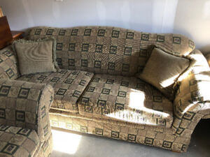 Full 3 Piece Sofa Set (Couch, Loveseat, Chair). Moving Sale!