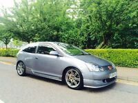 Honda Civic 2.0 Vtec Type R Cosmic Grey Ep3