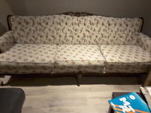 Ensemble de divan antique