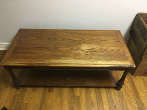 Vintage wooden coffee table for sale