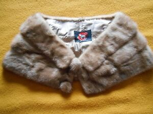 TAN COLORED MINK STOLE