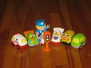 Vtech Tracks and Cars