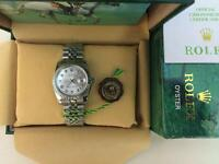 Men's Rolex Oyster Datejust Perpetual Automatic Watch, Silver Dial
