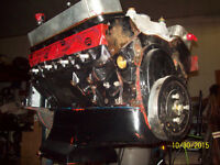 WICKED FRESH SBC 659HP PUMPGAS 388 2 STROKER ENGINE.TRADES