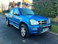 2007 Isuzu Rodeo 3.0 TD Denver Max LE Crewcab Pickup 4dr NO VAT