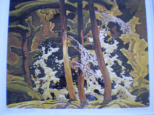 "Franklin Carmichael-""Wild Cherry Blossoms""-Limited Edition Print Kitchener / Waterloo Kitchener Area image 4"