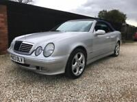 2003 Mercedes-Benz CLK 230 convertible,FINAL EDITION,ONLY 75000 MILES,TWO OWNERS
