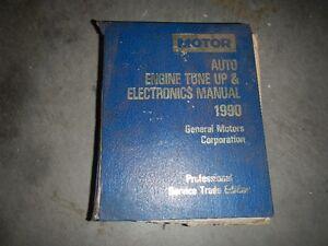 1990 motors GM tune up + electrical manual Peterborough Peterborough Area image 1