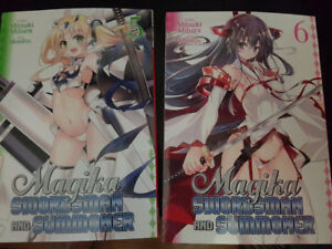 Manga for trade/sale - Magika Swordsman and Summoner vol. 5&6