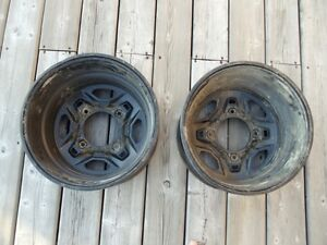 "14"" Steel Polaris Rims - 4/156"