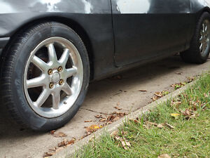 205/50r15 on 4 BOLT Rims RIMs on 2nd Generation CRX