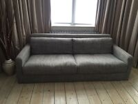 Brand New Habitat Chester Italian Woven Fabric 3 seater sofa RRP £1500