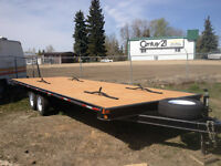 4 place sled trailer