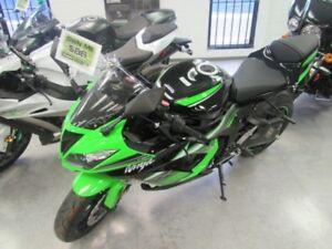 2017 Kawasaki Ninja ZX-6R ABS Kawasaki Racing Team Edition