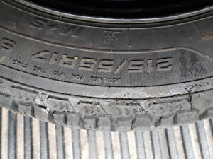 Goodyear Winter tires 215 55 17