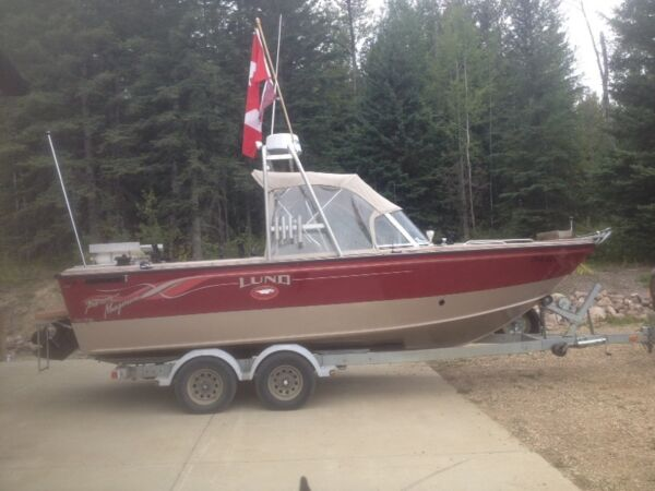 Used 2001 Lund Boat Co Baron