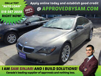 BMW 650i Coupe - Same Day YES! No Credit Approvals.