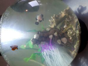 2 clownfish also Biorb for sale