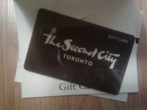 $100 Second City Comedy Show giftcard