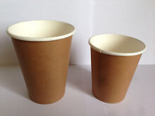 Coffee Paper Cups with Lids x 1000pcs starting as low as $65! Thornleigh Hornsby Area Preview