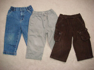 * BABY BOY 18MTHS PANTS