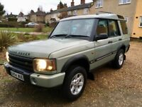 Land Rover Discovery 2.5 TD5 diesel 7 seat 4x4
