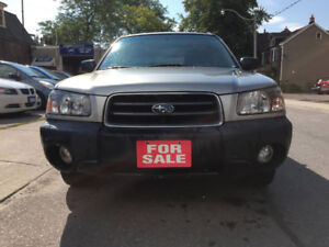 2005 Subaru Forester X SUV, Crossover ***ONE OWNER***