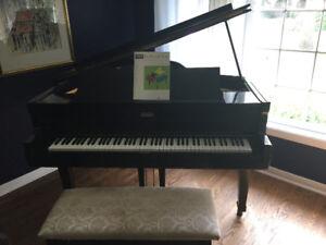 Baby Grand Piano -.Harrington