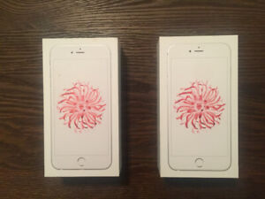 Two iPhones 6 Plus 64GB For Sale - WHITE