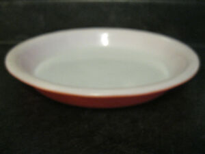 "VINTAGE PYREX PIE PLATE # 209 8.5"" INCH  Flamingo Pink Oven P"