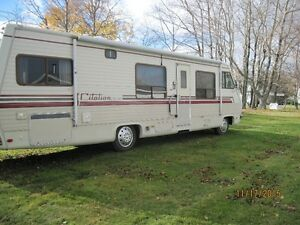 1987 CITATION MOTORHOME  34 FOOT