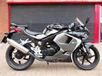HYOSUNG GTR 125 C 2017 ONE OWNER FDSH HPI WARRANTY FINANCE GT125R-C