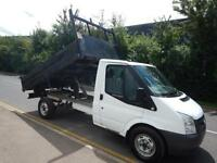 Ford Transit TIPPER 350 140PS 6SPEED DROP SIDE TRUCK DIESEL MANUAL 2011/11