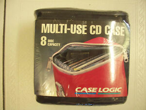 Vintage Case Logic CD-8 Multifunctional Durable CD CaseCirca1990