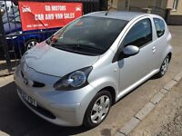 TOYOTA AYGO 998cc (2007) MOT MAY 17, WARRANTY, EXCELLENT CONDITION £1795
