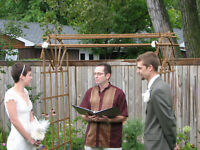 Officiant-Relaxed- personal attention for your special day