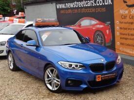 BMW 2 SERIES 2.0 220D M SPORT Blue Manual Diesel, 2014