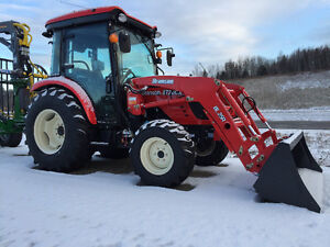 Branson Tractors Mid Winter Special 47HP Cab only $418.00/M