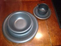 Brand new black dishes