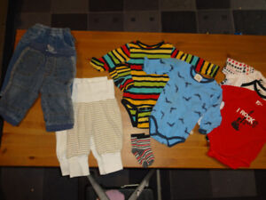 3-6 months boy clothing From Sweden, Summer to Fall