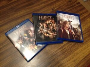 Hobbit Trilogy on Blue Ray