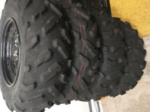 Brand new Quad tires and rims