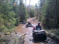 ATV Lodging with breakfast and dinner