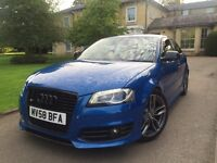 2008 58 Audi S3 2.0 TFSI+FSH+HPI CLEAR+SPRINT BLUE+PX SWAPS TRY ME