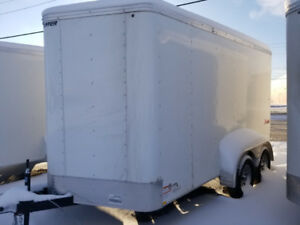 CARGO TRAILER 7X14 CLEARANCE!! FREE V NOSE!!