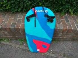 Bodyboard with handles
